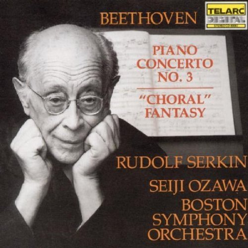 Ludwig Van Beethoven Con Pno 3 Choral Fant CD R Ozawa Boston So