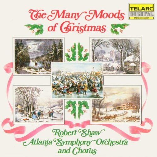Robert Shaw Many Moods Of Christmas Walthall*marilyn (org) Shaw Atlanta So & Chorus