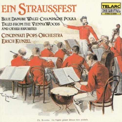 Strauss Family Straussfest Music Of Kunzel Cincinnati Pops Orch