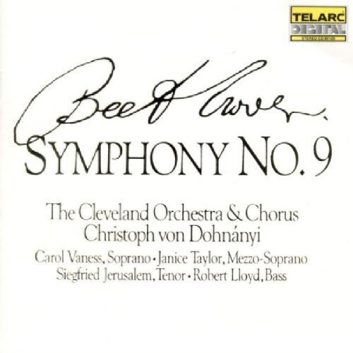 Ludwig Van Beethoven Sym 9 Choral Dohnanyi Cleveland Orch