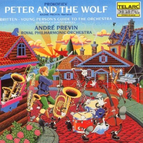Prokofiev Britten Peter & Wolf Young Persons Previn Royal Po
