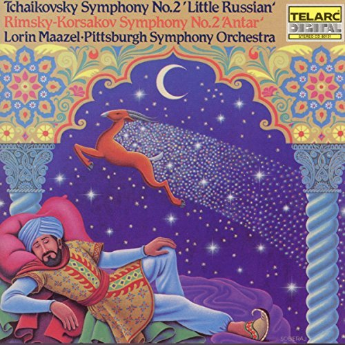 Pyotr Ilyich Tchaikovsky Little Russian CD R Maazel Pittsburgh So