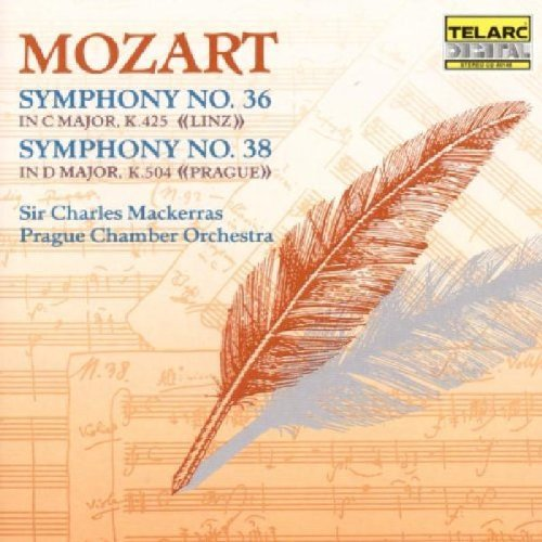 Wolfgang Amadeus Mozart Sym 36 38 Mackerras Prague Co