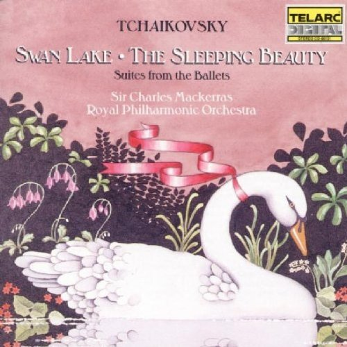 Pyotr Ilyich Tchaikovsky Swan Lake Sleeping Beauty Hlts CD R Mackerras Royal Po