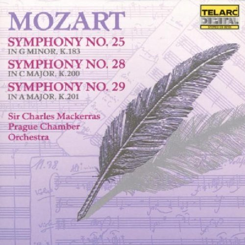 Wolfgang Amadeus Mozart Sym 25 28 29 Mackerras Prague Co