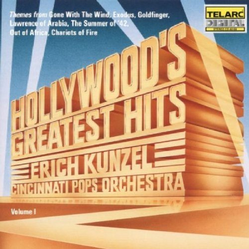 Kunzel Cincinnati Pops Hollywood's Greatest Hits Kunzel Cincinnati Pops Orch
