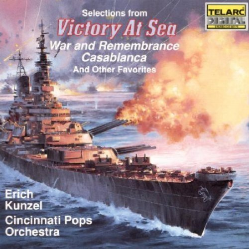 R. Rodgers Victory At Sea Other Film Musi Kunzel Cincinnati Pops Orch