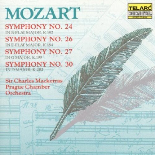Wolfgang Amadeus Mozart Sym 24 26 27 30 Mackerras Prague Co