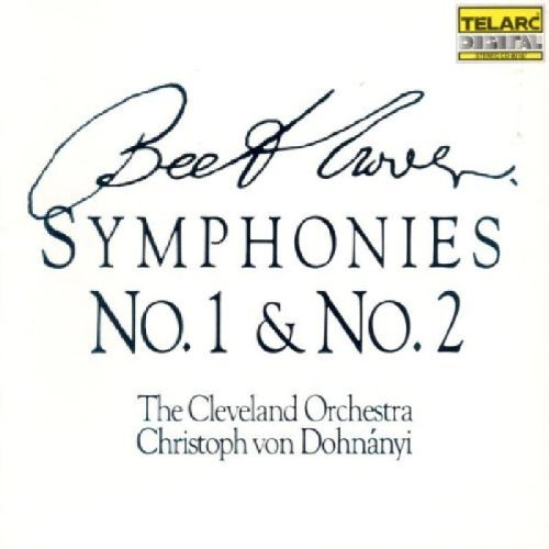 Ludwig Van Beethoven Sym 1 2 Dohnanyi Cleveland Orch