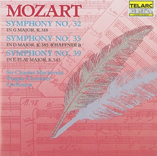 Wolfgang Amadeus Mozart Sym 32 35 39 Mackerras Prague Co