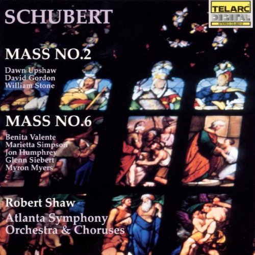 F. Schubert Mass 2 6 Upshaw Stone Gordon Valente Shaw Atlanta So