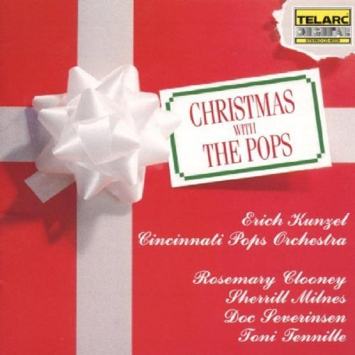 Erich Kunzel Christmas With The Pops Clooney Milnes Severinsen & Kunzel Cincinnati Pops
