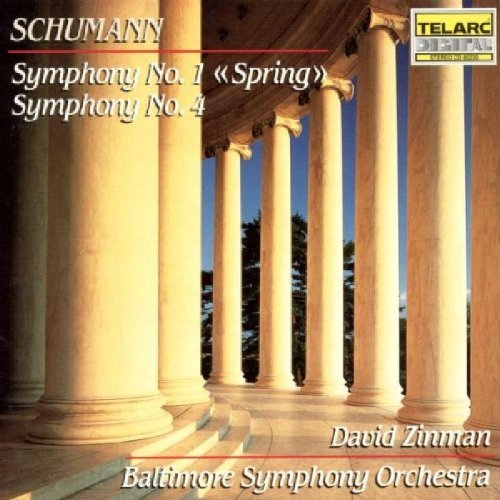 Robert Schumann Sym 1 4 Zinman Baltimore So