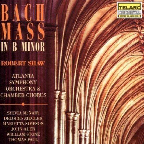 Shaw Aso Bach Mass In B Minor Mcnair Ziegler Nelson Simpson Shaw Atlanta So