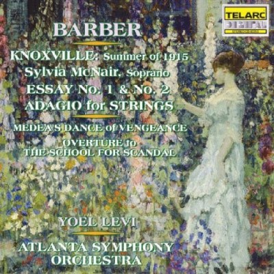 Levi Aso Music Of Samuel Barber Mcnair*sylvia (sop) Levi Atlanta So