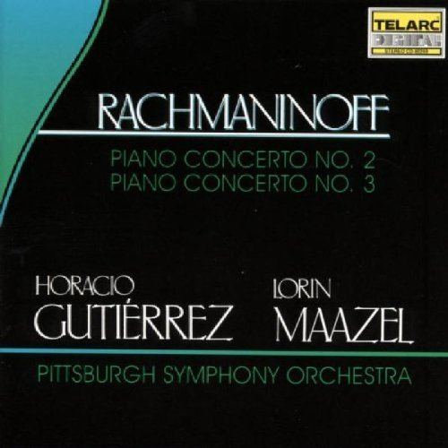 S. Rachmaninoff Con Pno 2 3 CD R Gutierrez*horacio (pno) Maazel Pittsburgh So