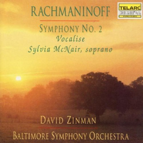 S. Rachmaninoff Sym 2 Vocalise CD R Mcnair*sylvia (sop) Zinman Baltimore So