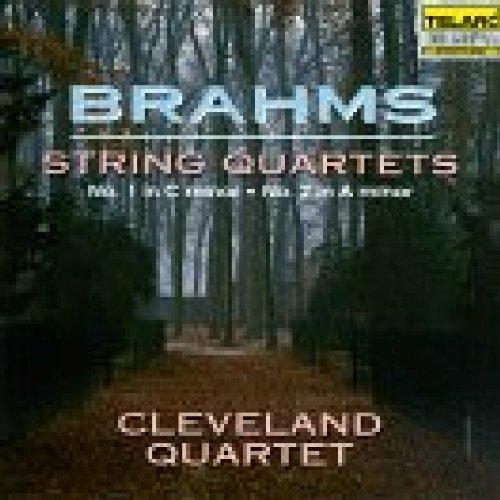 Cleveland Quartet Brahms Quartets In A Minor & Cleveland Qt