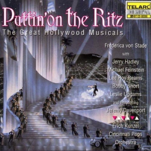 Kunzel Cincinnati Pops Puttin' On The Ritz Von Stade Hadley Feinstein + Kunzel Cincinnati Pops Orch