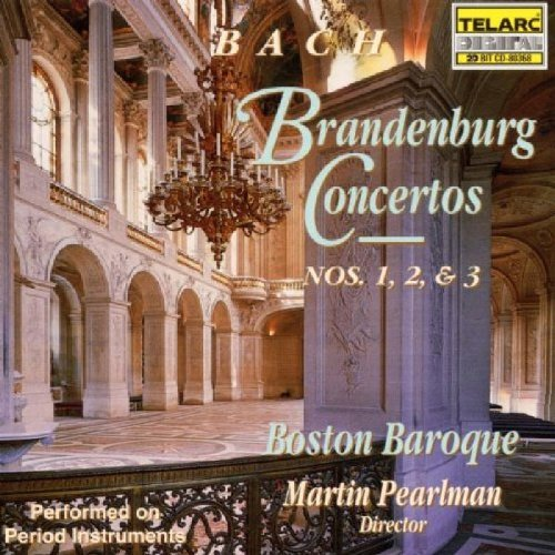 Boston Baroque Bach Brandenburg Concertos No Pearlman Boston Baroque