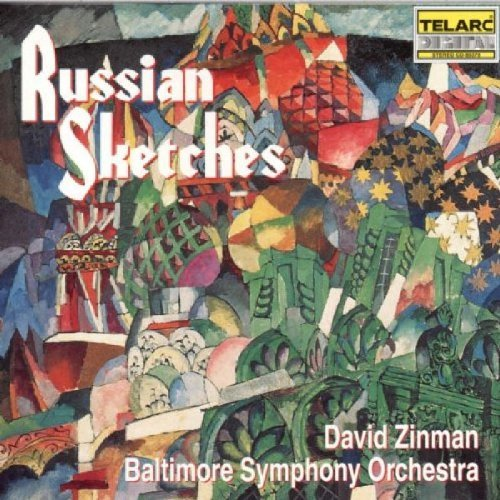 Zinman Baltimore Symphony Orch Russian Sketches Zinman Baltimore So