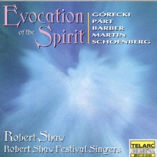 Shaw Festival Singers Evocation Of The Spirit Shaw Robert Shaw Fest Singers