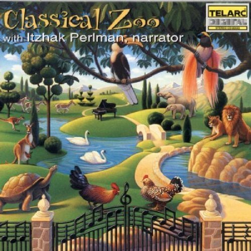 Levi Aso Perlman Classical Zoo Carnival Of The Perlman*itzhak (nar) Levi & Lane Atlanta So