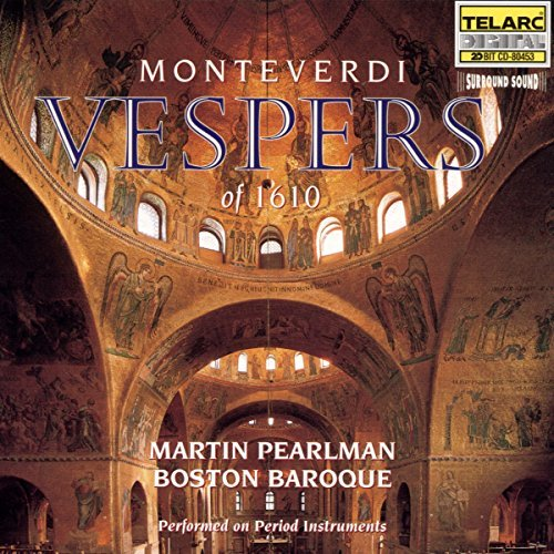 Boston Baroque Monteverdi Vespers Of 1610 Clift Croft Nomura Mattsey + Pearlman Boston Baroque
