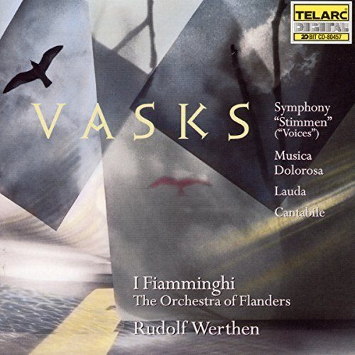 I Fiamminghi Vasks Cantable Symphony Stimm CD R Werthen Various