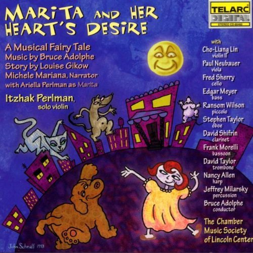 Marita & Her Heart's Desire Musical Fairy Tale CD R Previn Royal Po