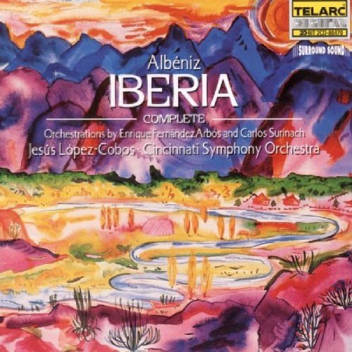 I. Albeniz Iberia Comp CD R 2 CD Lopez Cobos Cincinnati So