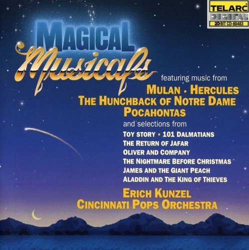 Erich Kunzel Magical Musicals CD R Kunzel Cincinnati Pops Orch