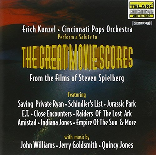 Erich Kunzel Great Movie Scores Kunzel Cincinnati Pops Orch