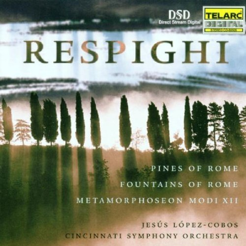 Lopez Cobos Cincinnati So Respighi Pines Of Rome Lopez Cobos Cincinnati So
