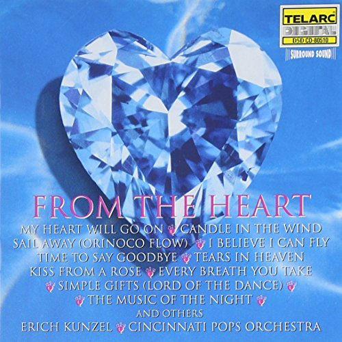 Erich Kunzel From The Heart CD R Kunzel Cincinnati Pops Orch