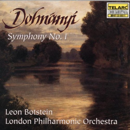 E. Von Dohnanyi Sym 1 CD R Botstein London Po