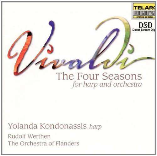 Antonio Vivaldi Four Seasons Hp Orch Kondonassis*yolanda (hp) Werthen Orch Of Flanders