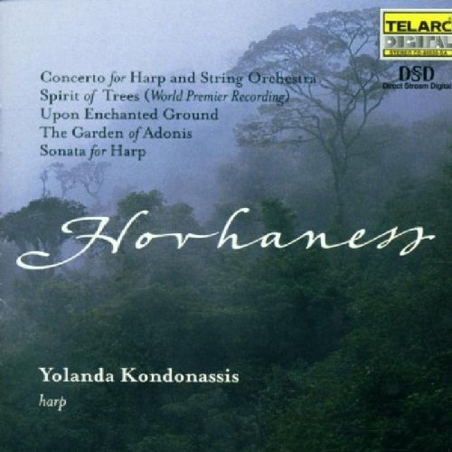 Kondonassis Music Of Alan Hovhaness Kondonassis (hp) Enhanced CD