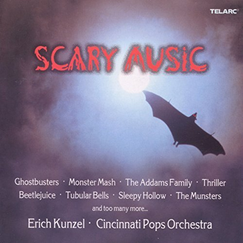 Erich Kunzel Scary Music CD R Kunzel Cincinnati Pops Orch