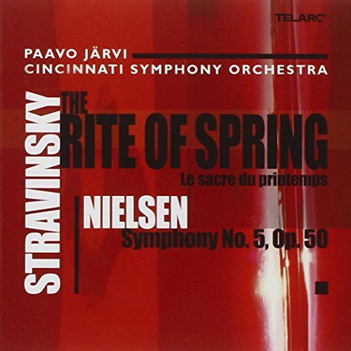 Nielsen Stravinsky Sym 5 Rite Of Spring CD R Jarvi Cincinnati So