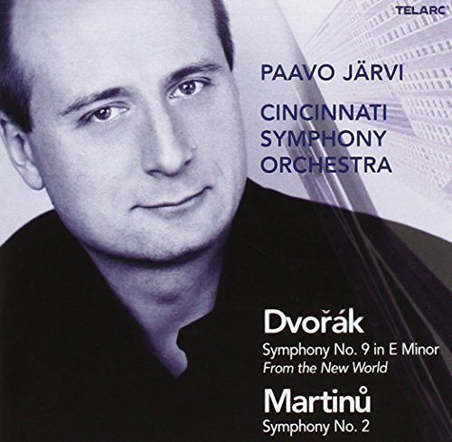 Dvorak Martinu Sym 9 Sym 2 Jarvi Cincinnati So