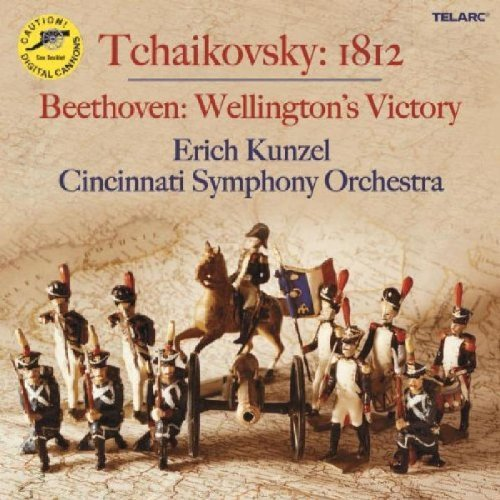 Beethoven Liszt Tchaikovsky Wellington's Victory Battle Of Kunzel Cincinnati Pops Orch