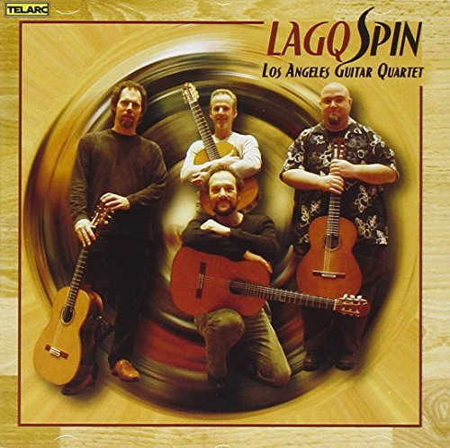 Los Angeles Guitar Quartet Spin Currie (perc)