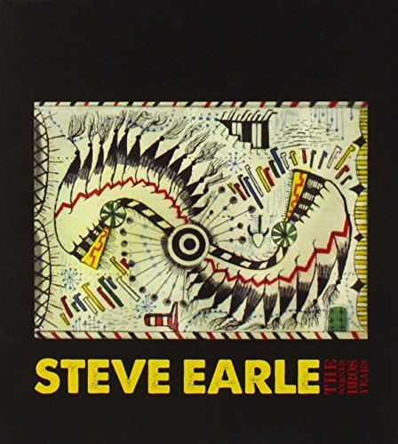 Steve Earle Warner Bros. Years Box Set 4 CD 1 DVD