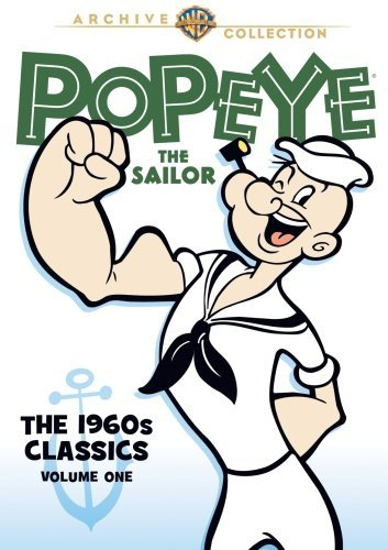 Popeye 1960s Animated Classic Popeye 1960s Animated Classic Made On Demand Nr 2 DVD