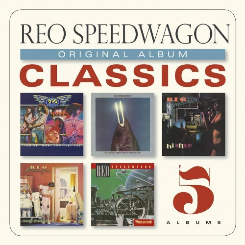 Reo Speedwagon Original Album Classics Slipcase 5 CD