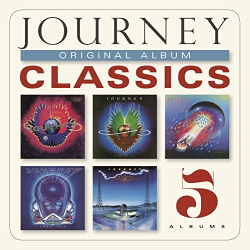 Journey Original Album Classics Slipcase 5 CD