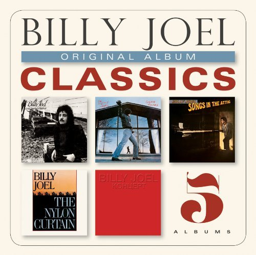 Billy Joel Original Album Classics Slipcase 5 CD