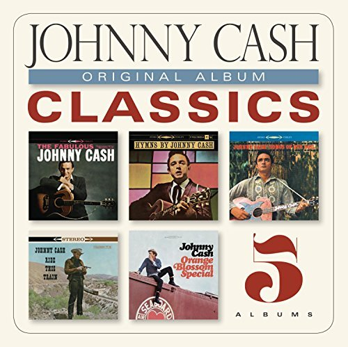 Johnny Cash Original Album Classics Slipcase 5 CD