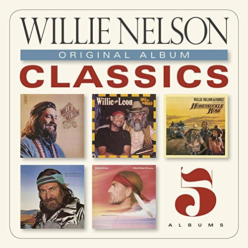 Willie Nelson Original Album Classics Slipcase 5 CD